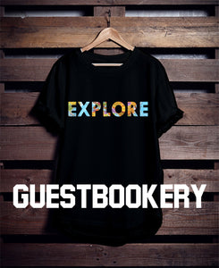 Explore T-shirt - Guestbookery