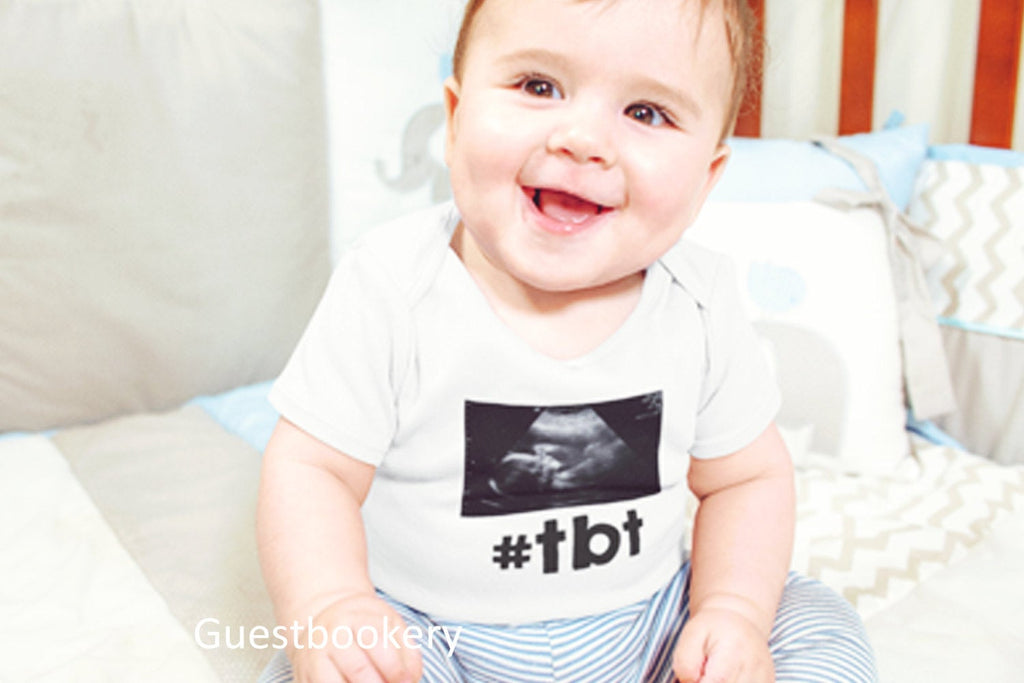 Throwback Thursday Onesie - #tbt - Guestbookery