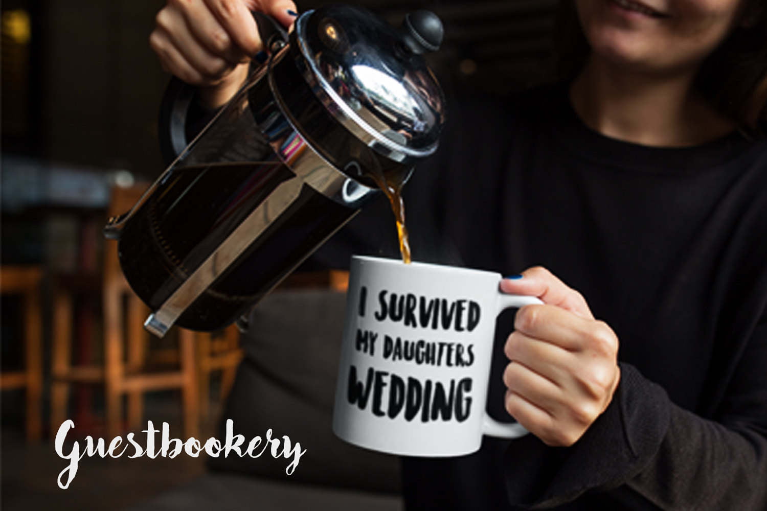 I Survived My Daughter's Wedding Mug - Guestbookery