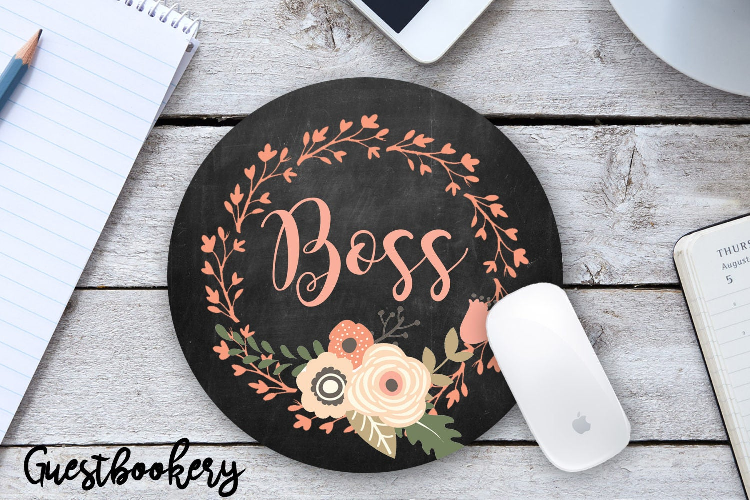 Boss Mousepad - Guestbookery