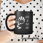 Load image into Gallery viewer, We're All Mad Here Cat Mug - Guestbookery