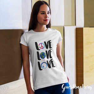 Love T-shirt - Guestbookery