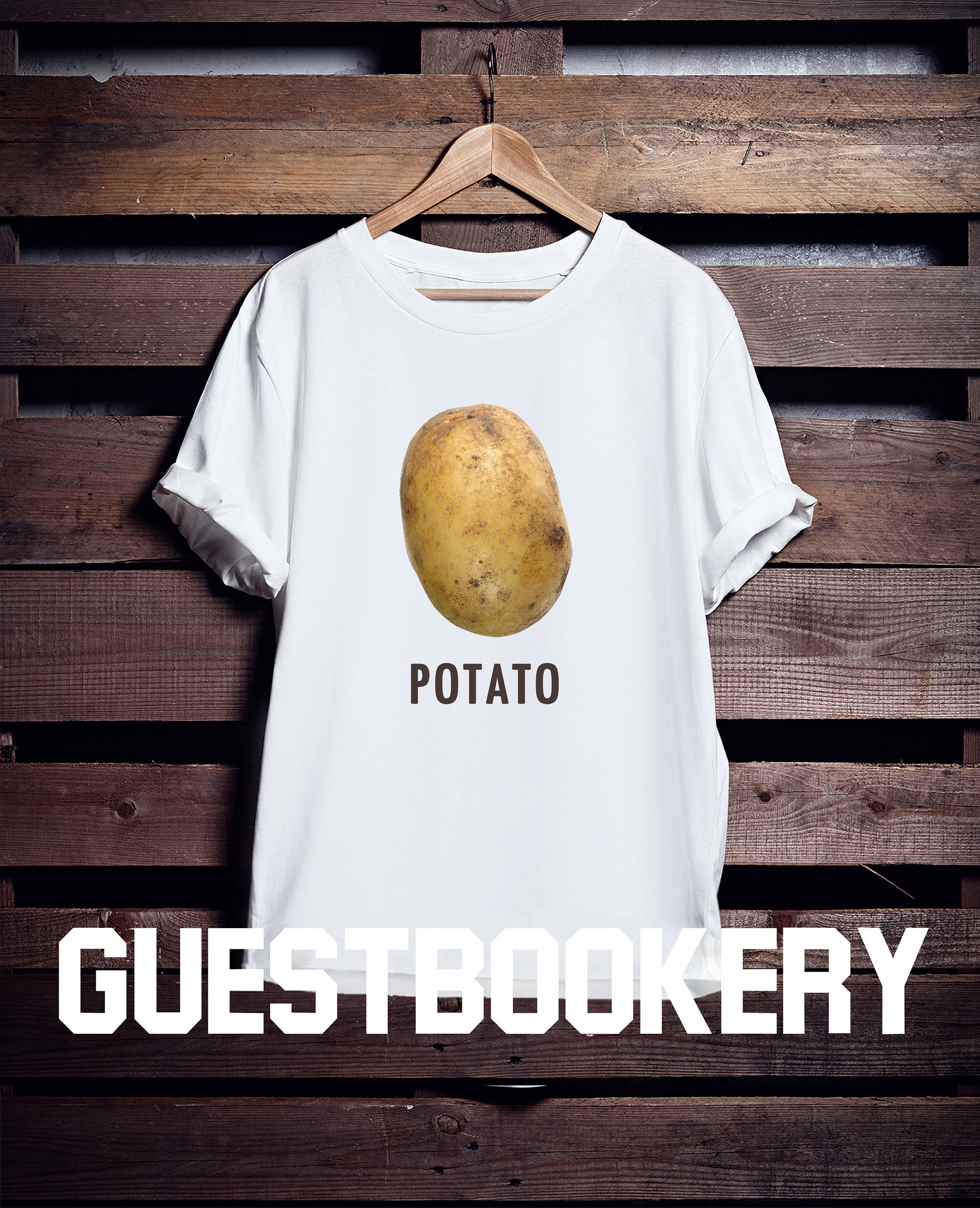 Potato T-shirt - Guestbookery