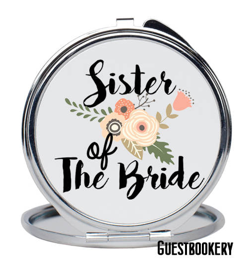 Sister of the Bride Mirror - Guestbookery