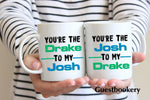 Load image into Gallery viewer, Drake and Josh Mugs - Guestbookery