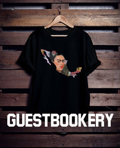 Frida Kahlo Mexico T-shirt - Guestbookery