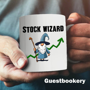 Stock Wizard Mug - Guestbookery