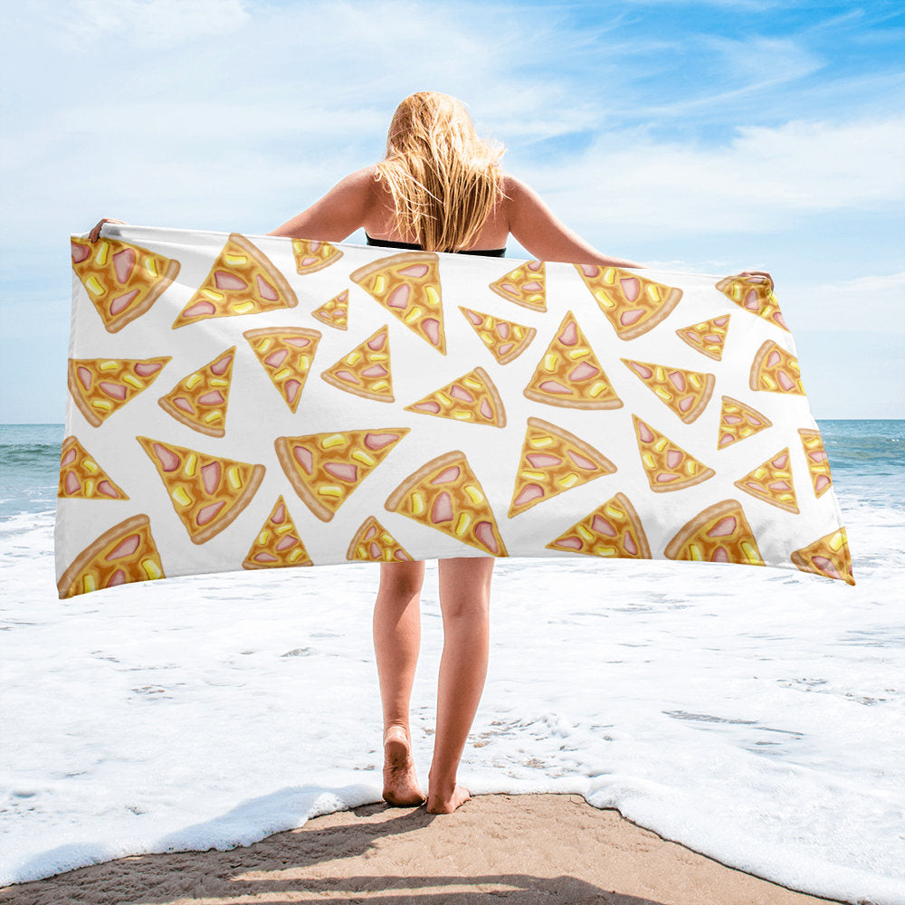 Pineapple Pizza Towel - Guestbookery