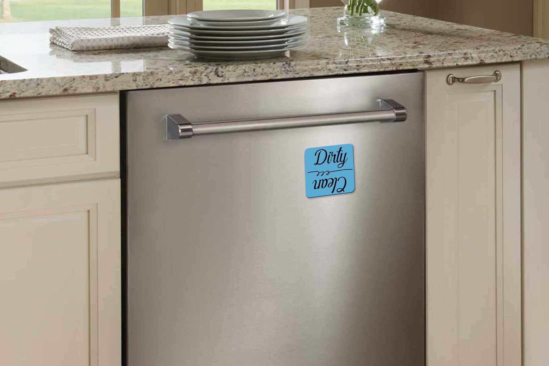 Dirty/Clean Dishwasher Magnet - Guestbookery