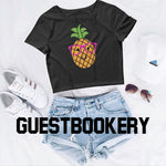 Load image into Gallery viewer, Pineapple Crop Top