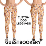 Load image into Gallery viewer, Custom Pet Face Leggings - Guestbookery