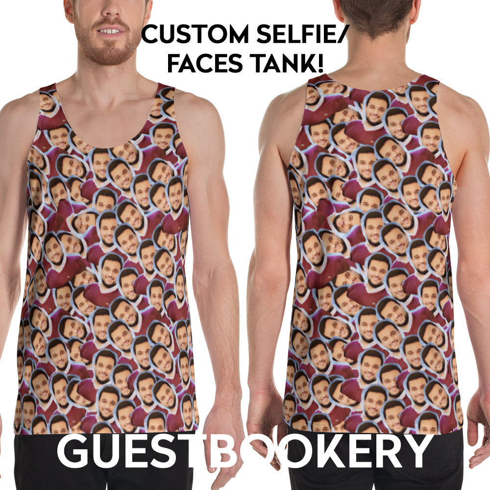 Custom Faces Tank Top - Guestbookery