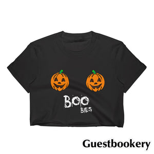 Boobies Halloween Crop Top - Guestbookery