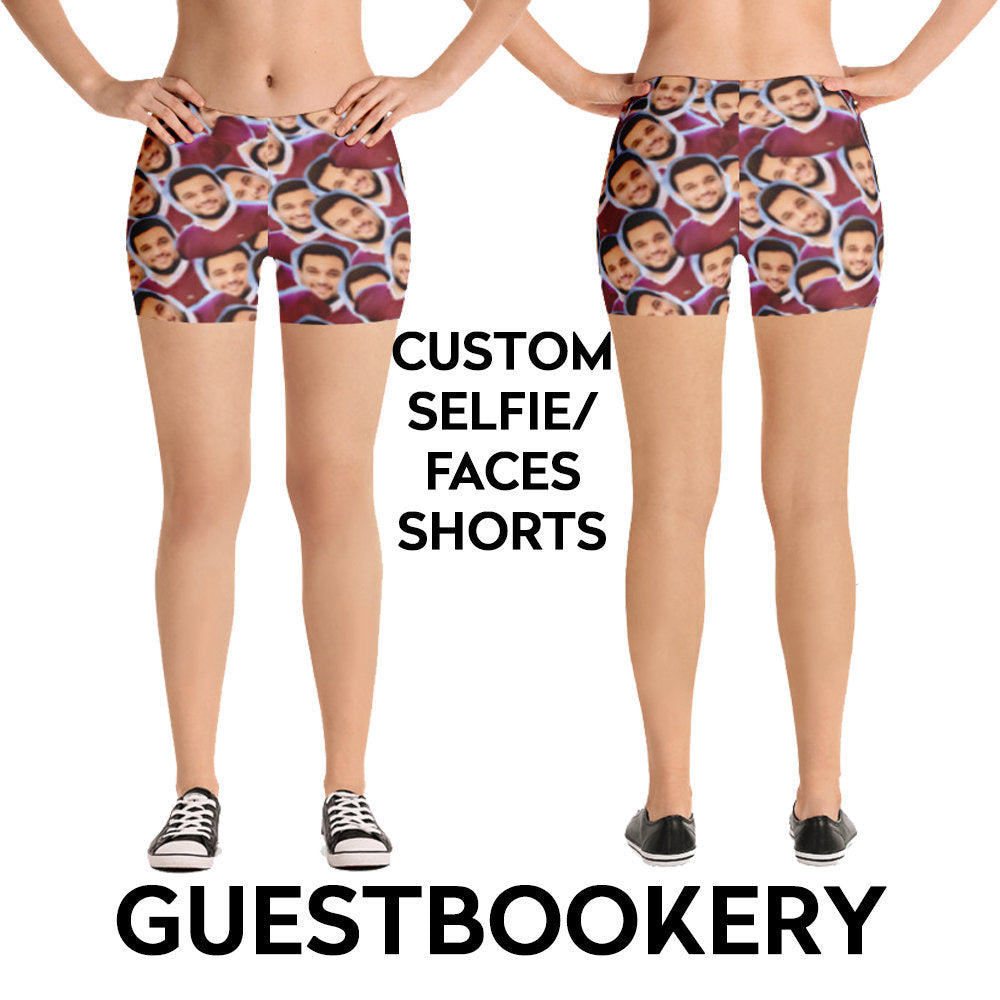 Custom Faces Shorts - Guestbookery