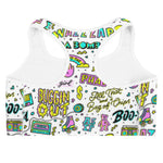 Load image into Gallery viewer, 90's Retro Sports Bra - Guestbookery