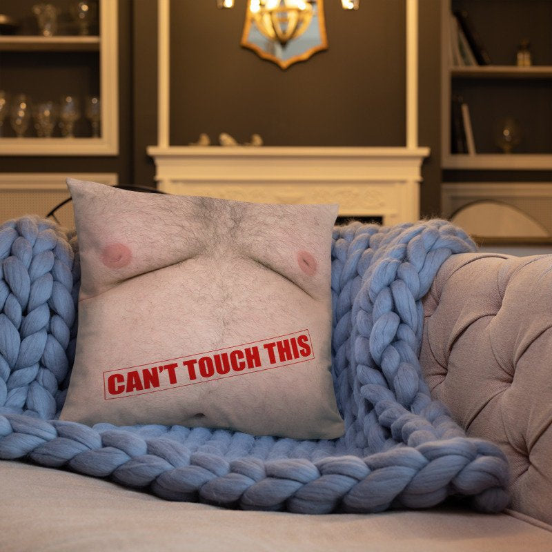 Hairy Chest Pillow - Guestbookery