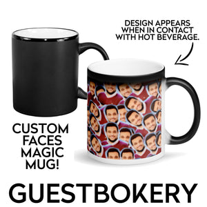 Custom Faces Magic Mug - Guestbookery