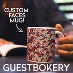 Load image into Gallery viewer, Custom Faces Mug - Guestbookery