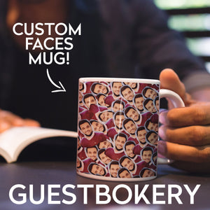 Custom Faces Mug - Guestbookery