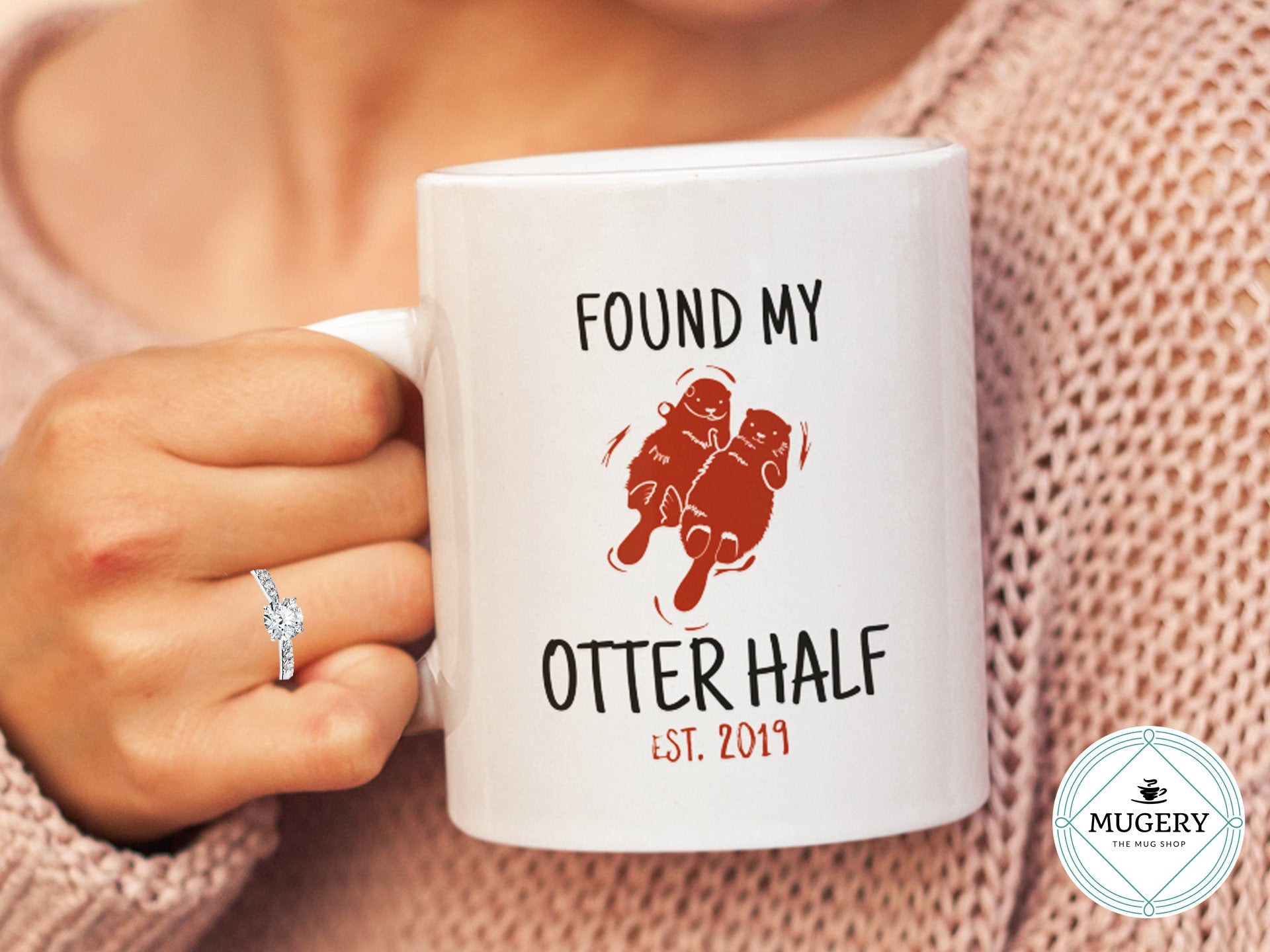 Found My Otter Half Mug - Guestbookery