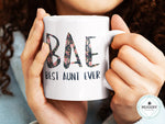 Load image into Gallery viewer, BAE Best Aunt Ever Mug - Guestbookery