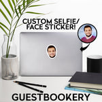 Load image into Gallery viewer, Custom Face Sticker
