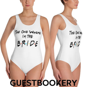 The One Where I'm The Bride Swimsuit - Friends