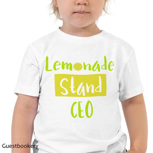 Lemon Stand Kid's T-shirt - Guestbookery