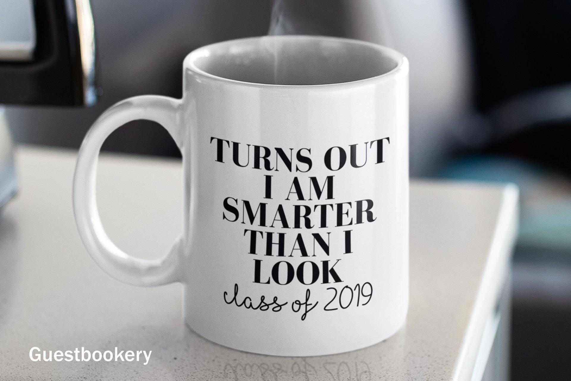 Smarter Than I Look Graduation Mug - Guestbookery