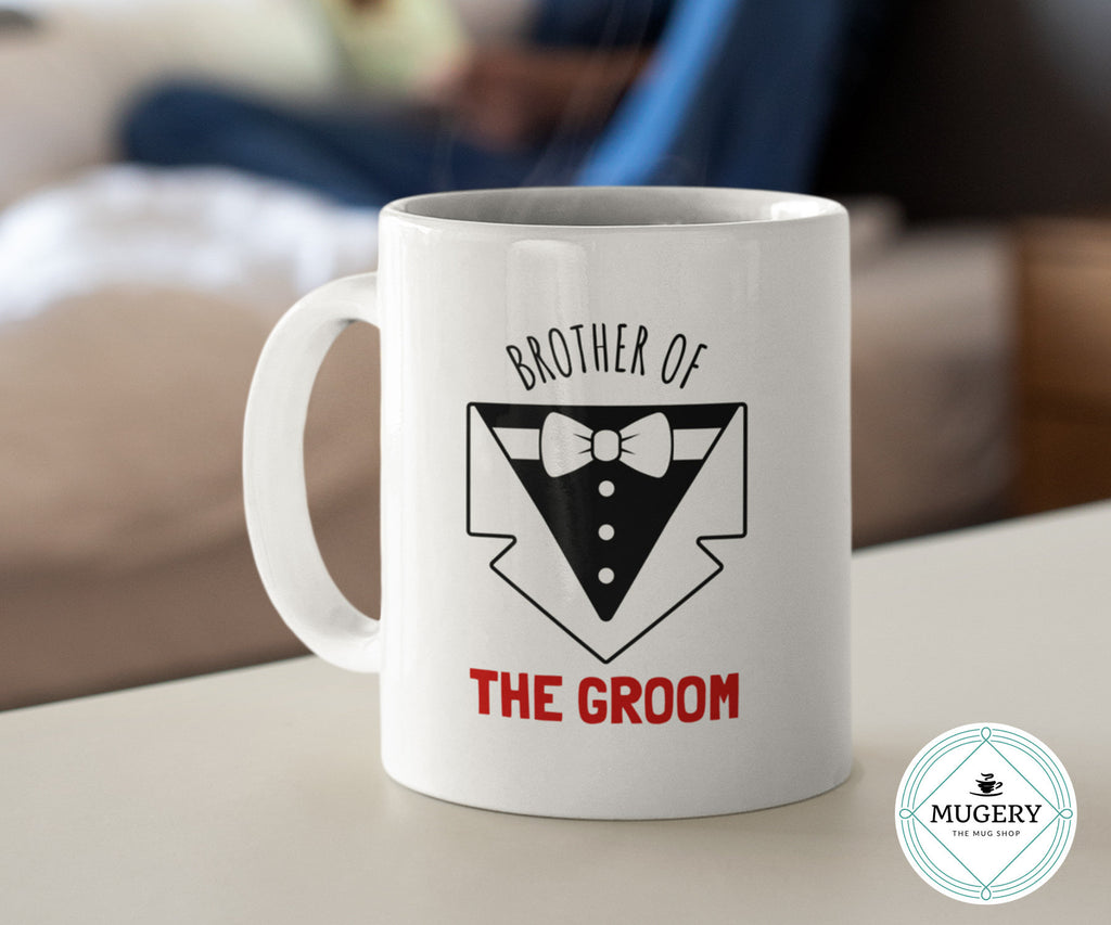 Brother of the Groom Mug - Guestbookery