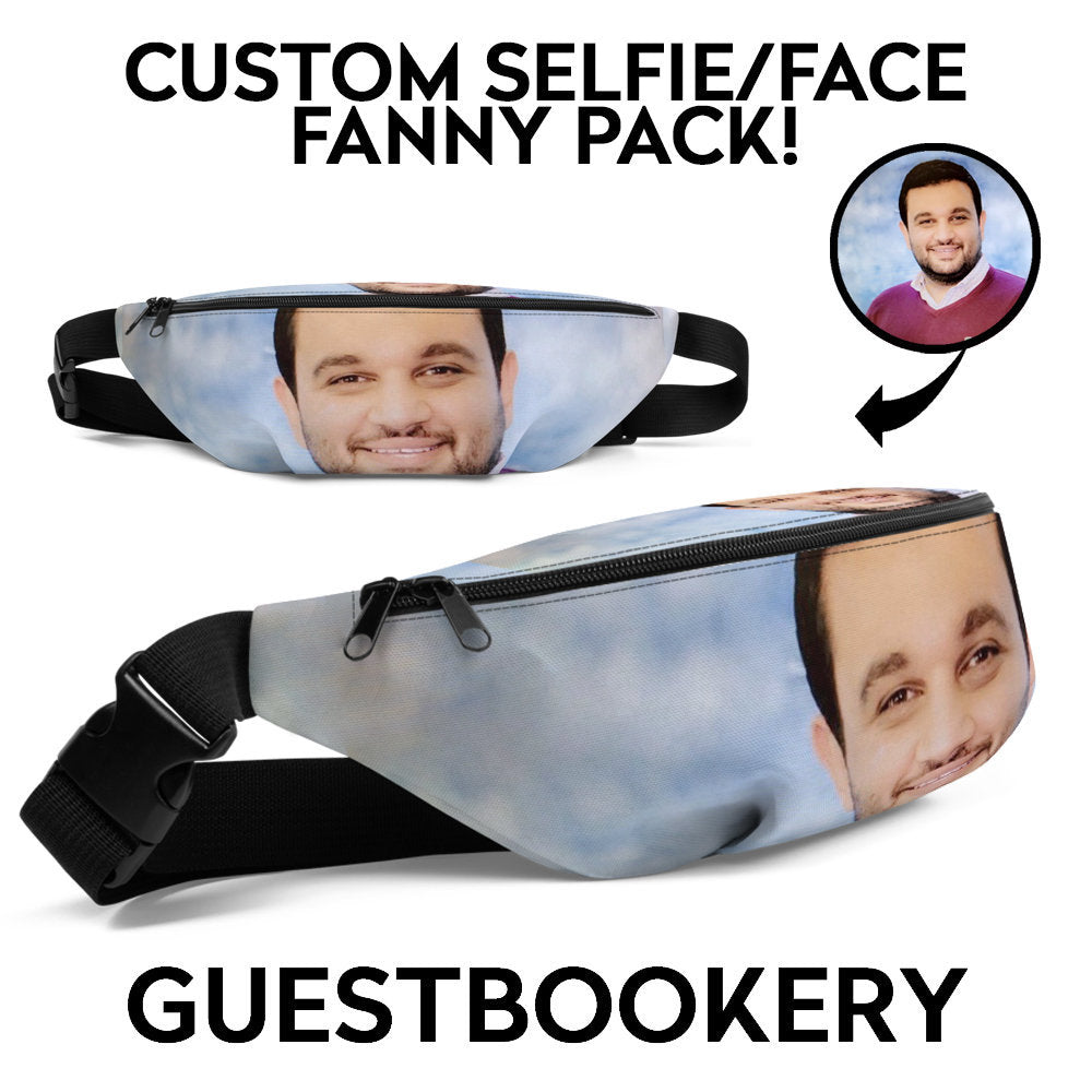Custom Face Fanny Pack - Guestbookery