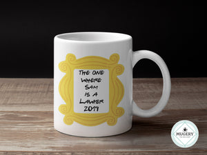 Lawyer Graduation Mug - Guestbookery