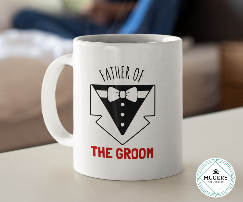 Father of the Groom Mug - Guestbookery
