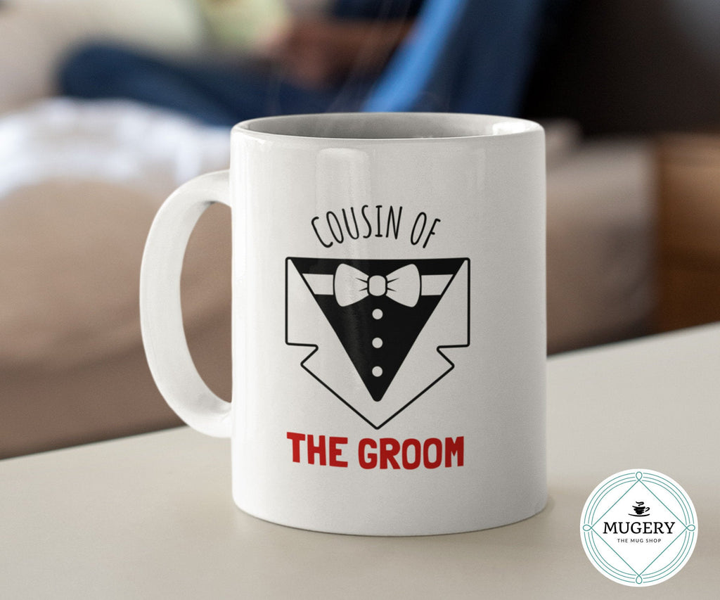 Cousin of the Groom Mug - Guestbookery