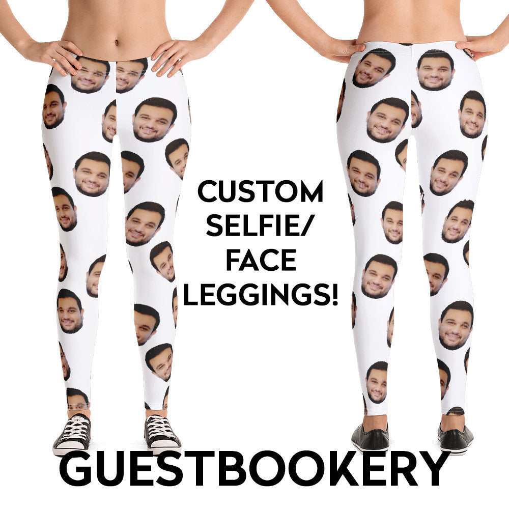 Custom Faces Leggings - Guestbookery