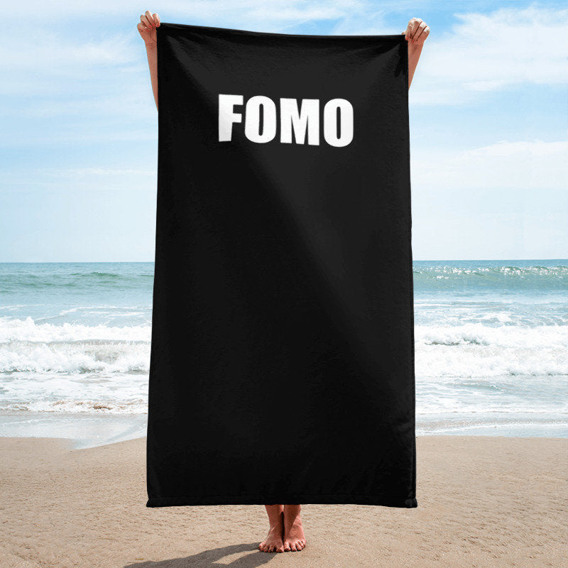 FOMO Towel - Guestbookery