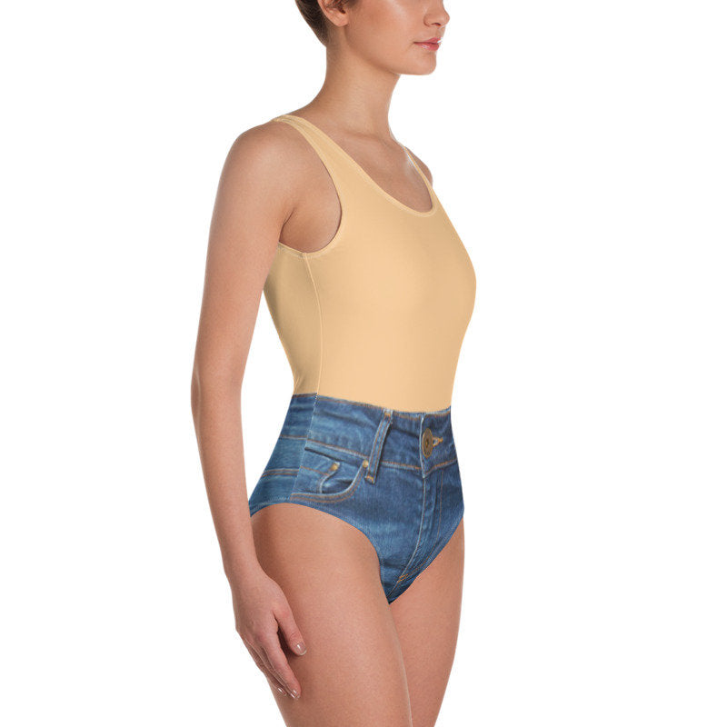 Jeans Swimsuit - Guestbookery