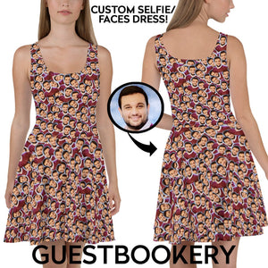 Custom Faces Dress - Guestbookery