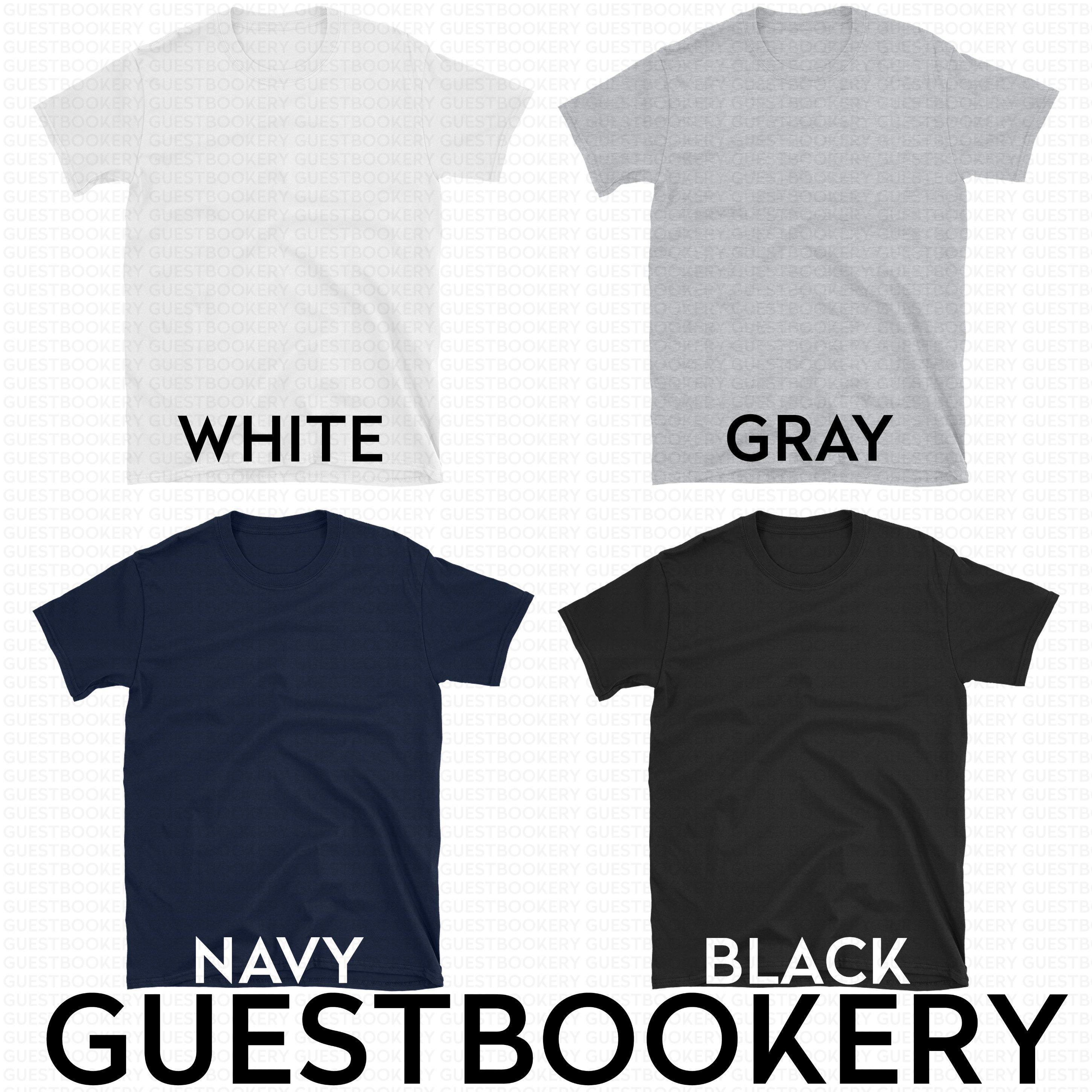 Custom Text T-shirt - Guestbookery