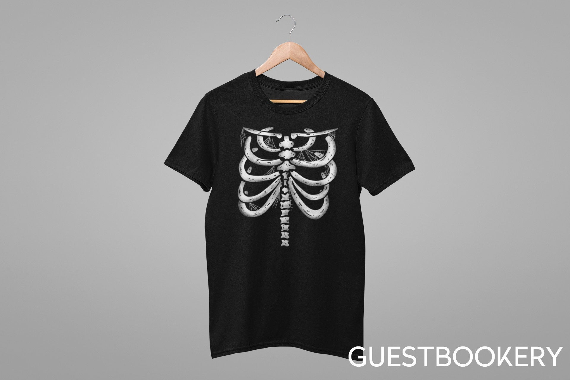 Rib Cage T-shirt - Guestbookery