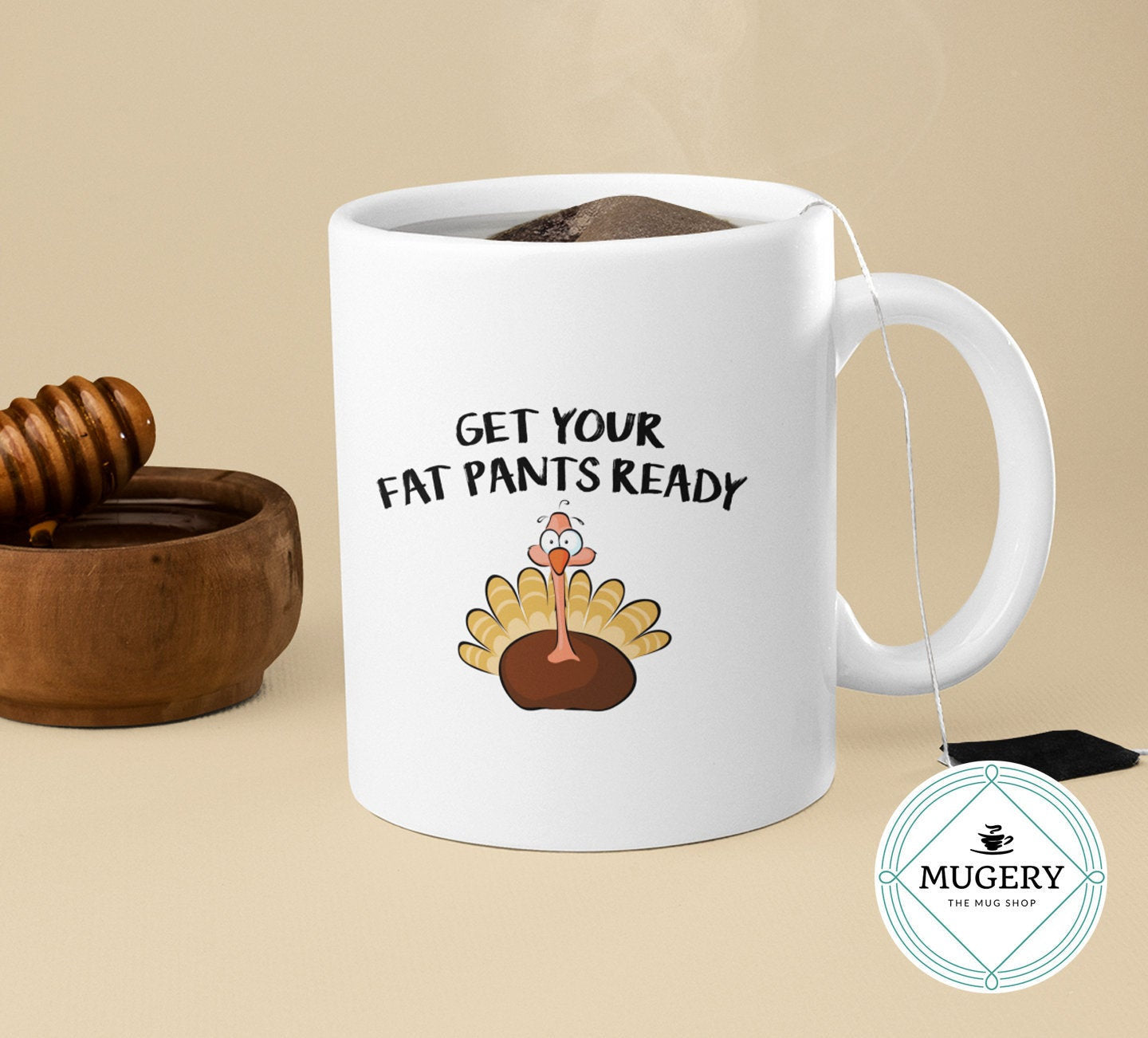 Get Your Fat Pants Ready Mug - Guestbookery