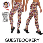 Load image into Gallery viewer, Custom Faces Yoga Pants - Guestbookery