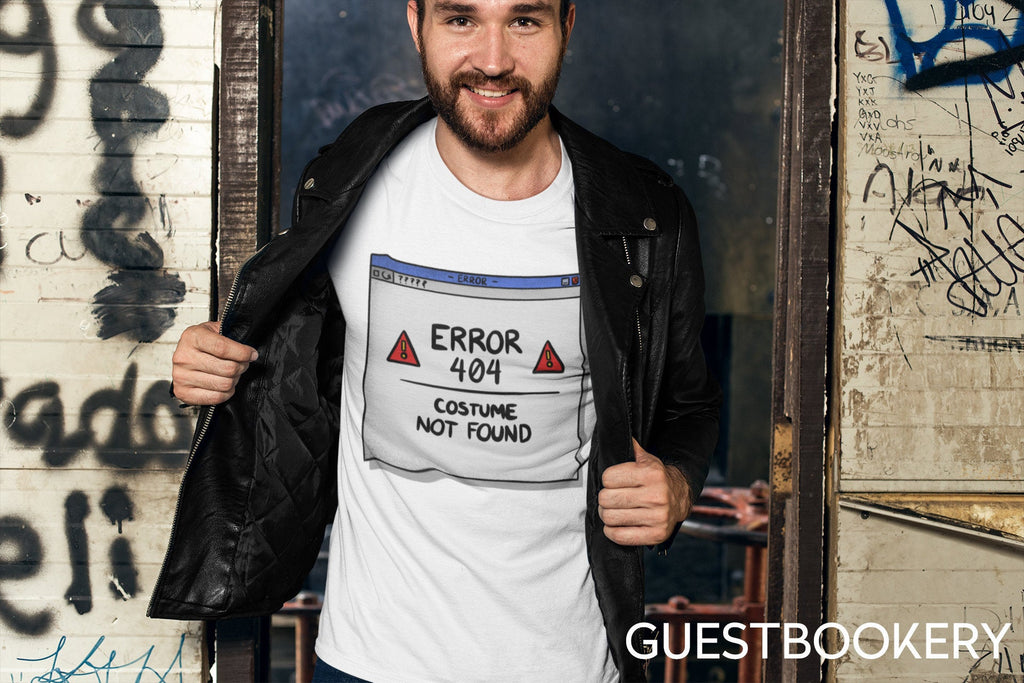 Costume Not Found T-shirt - Guestbookery