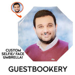 Load image into Gallery viewer, Custom Face Umbrella - Guestbookery