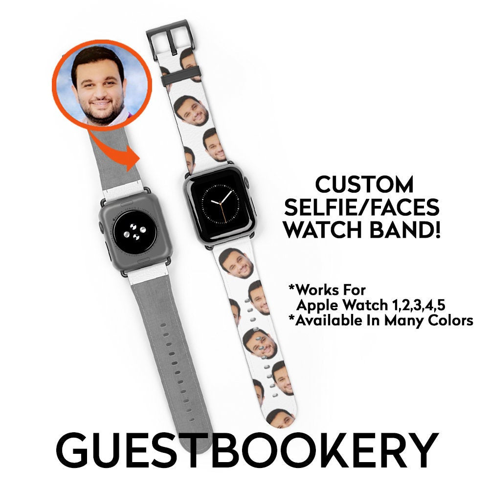 Custom Faces Watch Band - Guestbookery