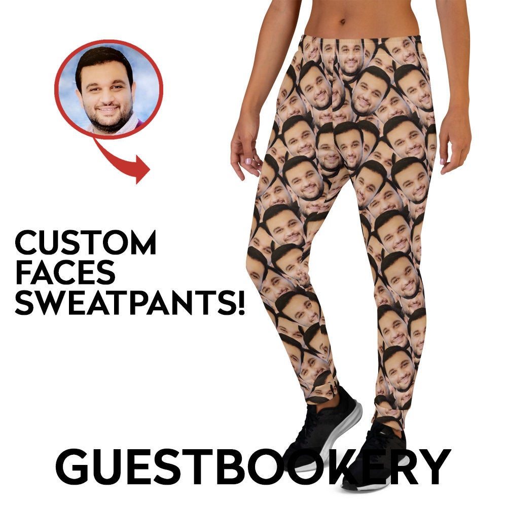 Custom Faces Sweatpants - Guestbookery