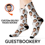 Load image into Gallery viewer, Custom Faces Socks - Guestbookery