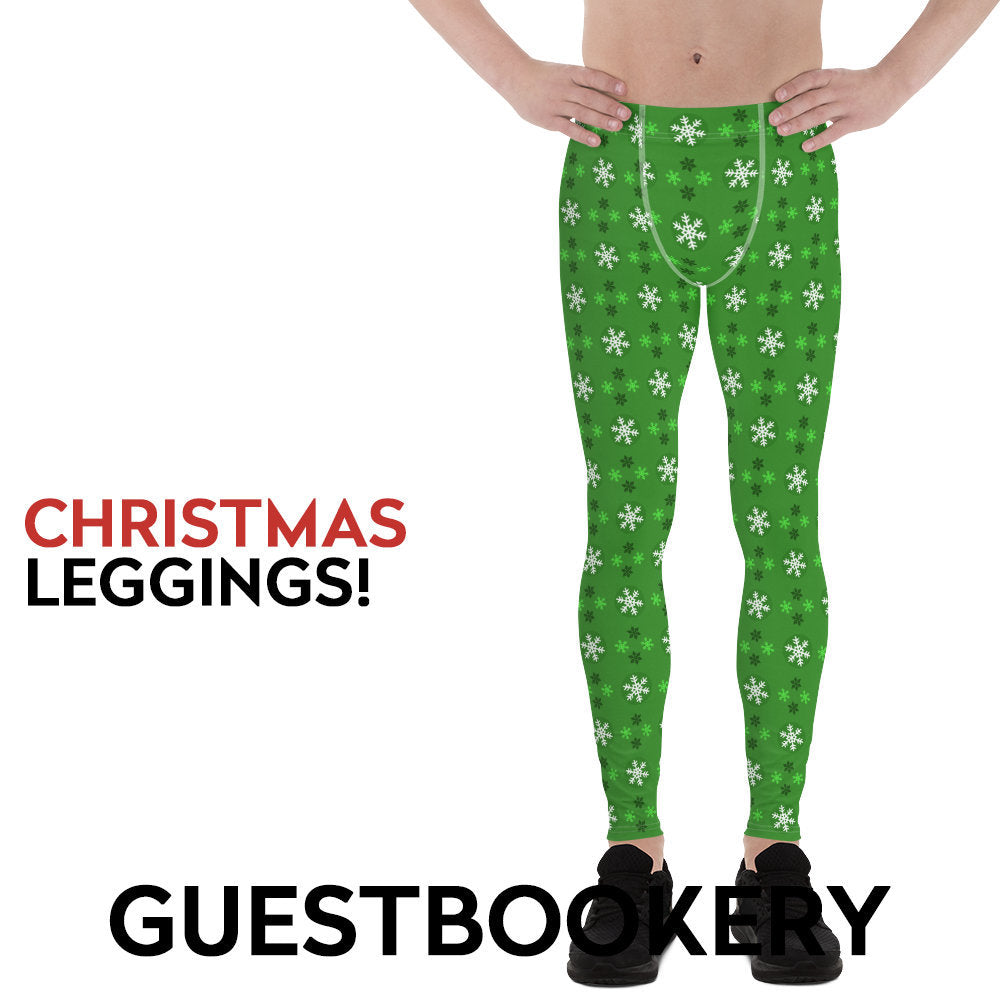 Christmas Male Leggings - Guestbookery