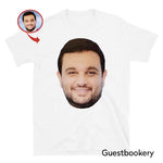 Load image into Gallery viewer, Custom Face T-shirt - Double Sided Print - Guestbookery