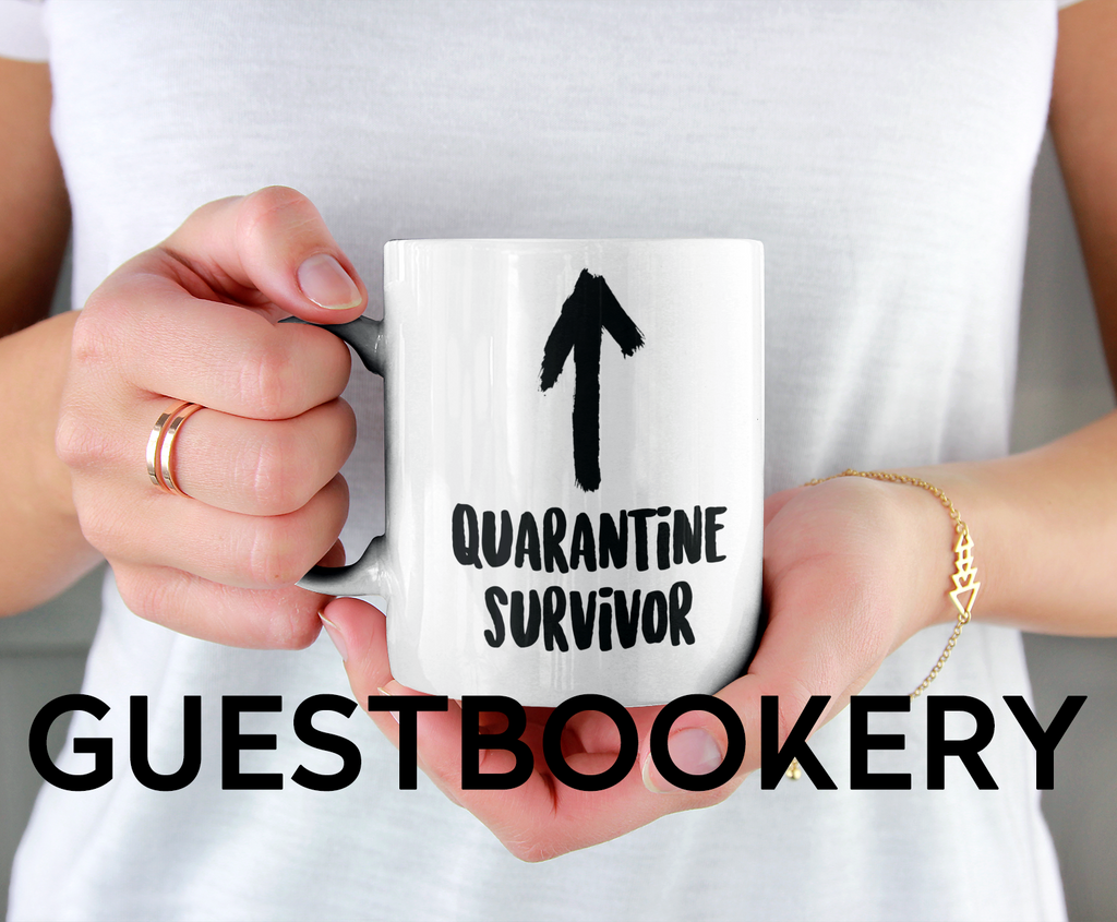 Quarantine Survivor Mug - Guestbookery